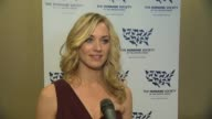 Yvonne Strahovski on the event the next 25 years at the The 25th Anniversary Genesis Awards Presented By The Humane Society Of The United States at...