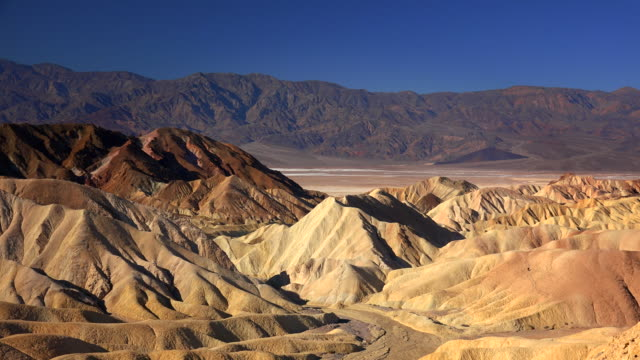 Zabriskie Point in Death Valley