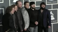 Zac Brown Band at the 52nd Annual GRAMMY Awards Arrivals at Los Angeles CA