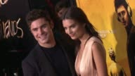 Zac Efron and Emily Ratajkowski at 'We Are Your Friends' Los Angeles Premiere at TCL Chinese Theatre on August 20 2015 in Hollywood California