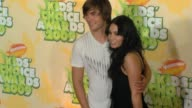 Zac Efron and Vanessa Hudgens at the Nickelodeon's 22nd Annual Kids' Choice Awards at Los Angeles CA