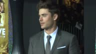 Zac Efron at New Year's Eve World Premiere on 12/5/11 in Hollywood CA