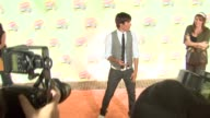 Zac Efron at the 2007 Nickelodeon's Kids' Choice Awards at UCLA's Pauley Pavilion in Los Angeles California on March 31 2007