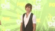 Zac Efron at the 2008 Teen Choice Awards at Los Angeles CA