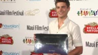Zac Efron at the 2010 Maui Film Festival Zac Efron Honored With Shining Star Award at Wailea HI