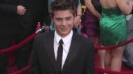 Zac Efron at the 82nd Annual Academy Awards Arrivals Part 2 at Los Angeles CA