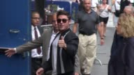 Zac Efron at the 'Good Morning America' show poses for photos and signs for fans in Celebrity Sightings in New York