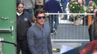 Zac Efron at the 'Good Morning America' studio in New York NY on 4/18/13
