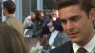 Zac Efron at The Lucky One European Premiere at Bluebird on April 23 2012 in London England