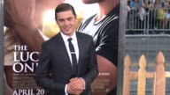 Zac Efron at The Lucky One World Premiere on 4/16/2012 in Hollywood CA