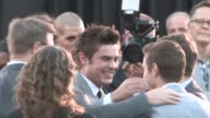 Zac Efron Dave Franco at the Neighbors Premiere in Westwood at Celebrity Sightings in Los Angeles on April 28 2014 in Los Angeles California