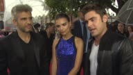 INTERVIEW Zac Efron Emily Ratajkowski Max Joseph on the movie being on a different level money electronic music being a performer at 'We Are Your...