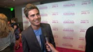 Zac Efron on coming out to support Ashley Tisdale at the Release Of Her New Film 'Sharpay's Fabulous Adventure'