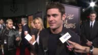 INTERVIEW Zac Efron on what it means to have the film premiering at TCL Chinese Theatre at 'We Are Your Friends' Los Angeles Premiere at TCL Chinese...