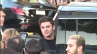 Zac Efron with rarely seen girlfriend Sami Miro at the We Are Your Friends Premiere at TLC Theatre in Hollywood in Celebrity Sightings in Los Angeles