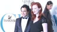 Zac Posen and Karen Elson at the The 2007 CFDA Awards at New York Public Library in New York New York on June 4 2007