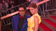 Zac Posen and Kate Mara at the 'Superheroes Fashion and Fantasy' Costume Institute Gala at The Metropolitan Museum of Art at the Metropolitan Museum...