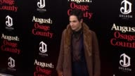 Zac Posen at 'August Osage County' New York Premiere at Ziegfeld Theater on in New York City