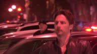 Zach Braff at Craig Susser's Birthday Party at Craigs in West Hollywood in Celebrity Sightings in Los Angeles