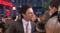 Zach Braff at 'Oz The Great Powerful' European Premiere at Empire Leicester Square on February 28 2013 in London England