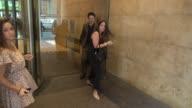 Zach Braff leaving SiriusXM Satellite Radio Celebrity Sightings in New York on July 22 2014 in New York City