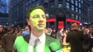 INTERVIEW Zach Braff on on his character working with James Franco what he took from set at 'Oz The Great Powerful' European Premiere at Empire...