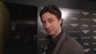 Zach Braff on what brings him out tonight On going to college and being very familiar with hangovers On how he chooses film and the best decision he...