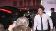Zach Braff Taylor Bagley greet fans at OZ The Great And Powerful After Party at Lure in Hollywood 02/13/13