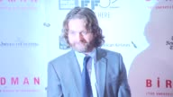 Zach Galifanakis at 'Birdman Or The Unexpected Virtue Of Ignorance' New York Film Festival Premiere Presented By Fox Searchlight Pictures on October...