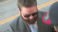 Zach Galifianakis arrives at The Hangover Part 2 Premiere in Hollywood
