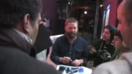 Zach Galifianakis at Largo in Los Angeles