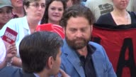 Zach Galifianakis at the 'Good Morning America' studio Zach Galifianakis at the 'Good Morning America' st on July 25 2012 in New York New York