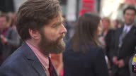 Zach Galifianakis at 'The Hangover Part III' European Premiere in London England UK on 5/22/2013