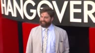Zach Galifianakis at The Hangover Part III Los Angeles Premiere 5/20/2013 in Westwood CA