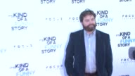 Zach Galifianakis at the 'It's Kind of a Funny Story' Special Screening at New York NY