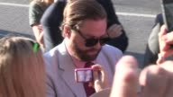 Zach Galifianakis greets fans at The Campaign Premiere in Hollywood at Celebrity Sightings in Los Angeles Zach Galifianakis greets fans at The...