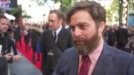 INTERVIEW Zach Galifianakis on doing a fourth film on what fans like about the film and on the baby from the first film at 'The Hangover Part III'...