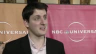 Zach Woods on being part of 'The Office' at the NBC Universal Press Tour AllStar Party at Pasadena CA
