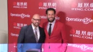 Zachary Levi and David Coleman at Operation Smile's Los Angeles Smile Gala at the Beverly Wilshire Beverly Hills at Celebrity Sightings in Los...