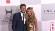 Zachary Levi and Elle Macpherson at NBCUniversal's 69th Annual Golden Globe AfterParty in Beverly Hills CA on 1/15/12