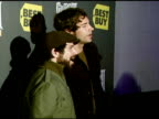 Zachary Levi and Joshua Gomez at the Best Buy Presents Guitar Hero® III Legends of Rock Launch Party at Best Buy Rooftop in Los Angeles California on...