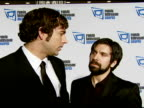 Zachary Levi and Joshua Gomez on the event and the family appeal of 'Chuck' at the Ninth Annual Family Television Awards Sponsored by the Family...