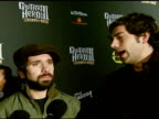 Zachary Levi and Joshua Gomez on the event the game Slash and women who play video games at the Best Buy Presents Guitar Hero® III Legends of Rock...