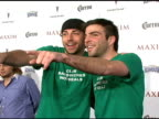 Zachary Levi and Zachary Quinto at the Maxim's 8th Annual Hot 100 Party at Ono at The Gansevoort Hotel in New York New York on May 16 2007
