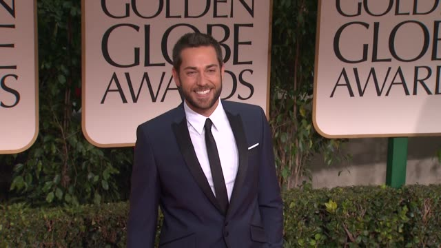 Zachary Levi at 69th Annual Golden Globe Awards Arrivals on January 15 2012 in Beverly Hills California