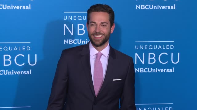 Zachary Levi at NBC Universal Networks Upfronts 2017 at Radio City Music Hall on May 15 2017 in New York City