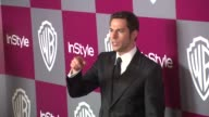 Zachary Levi at the 2011 InStyle/Warner Brothers Golden Globe Awards Party at Beverly Hills CA