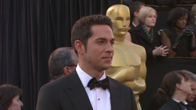 Zachary Levi at the 83rd Annual Academy Awards Arrivals Pool Cam at Hollywood CA