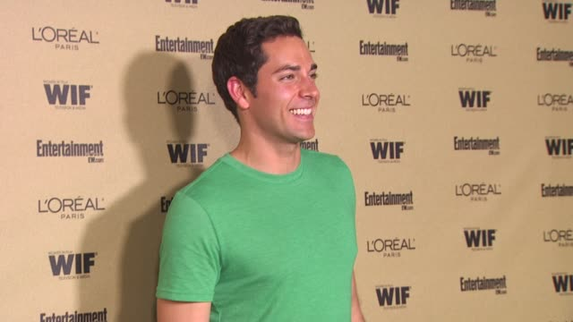 Zachary Levi at the Entertainment Weekly And Women In Film PreEmmy Party at West Hollywood CA