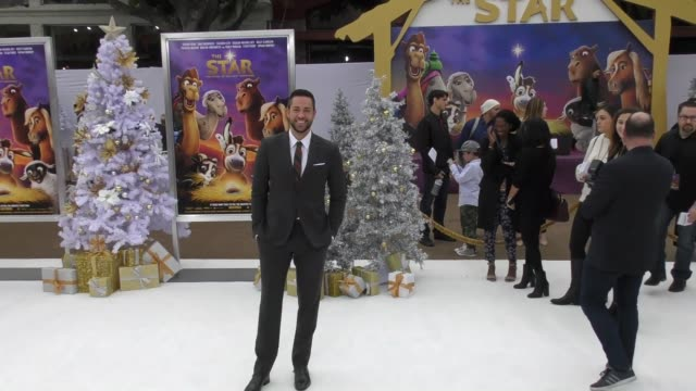Zachary Levi at the Premiere Of Columbia Pictures' 'The Star' on November 12 2017 in Westwood California